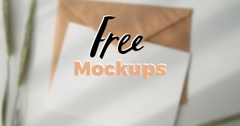 The best 9 free mockups websites