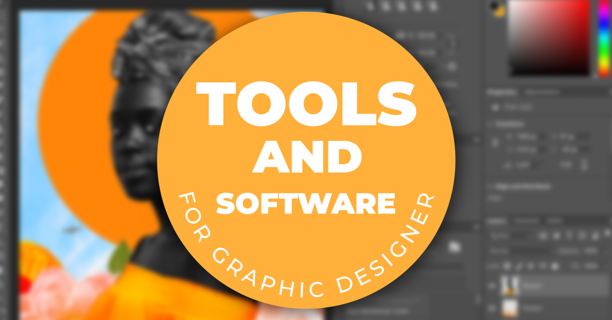 tools and software i use as a graphic designer