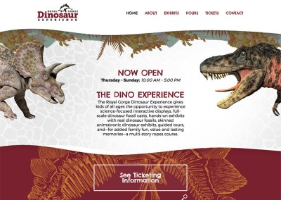 The Royal Gorge Dinosaur Experience