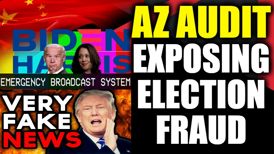 "President Trump Calls Out 'SCAM ELECTION', FAKE NEWS Lies About AZ Audit & Biden Says U.S. ""DOOMED""!"