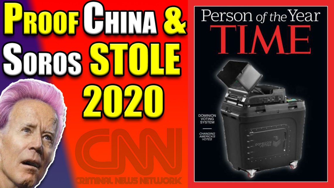 MUST WATCH! PROOF! China & Soros Helped Facilitate The 2020 Election STEAL!!!