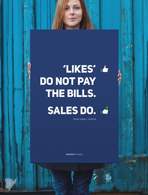 Likes Don't Pay the Bills - Startup Vitamins