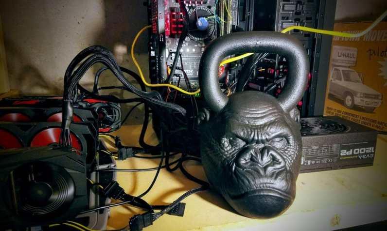 Eth Mining Rig Gorilla Head