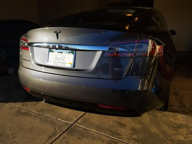 Tesla HODL Ethereum