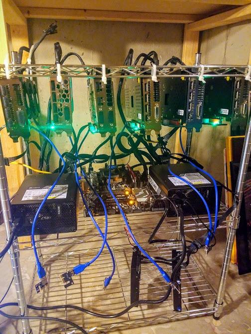 Ethereum Mining Rig Setup
