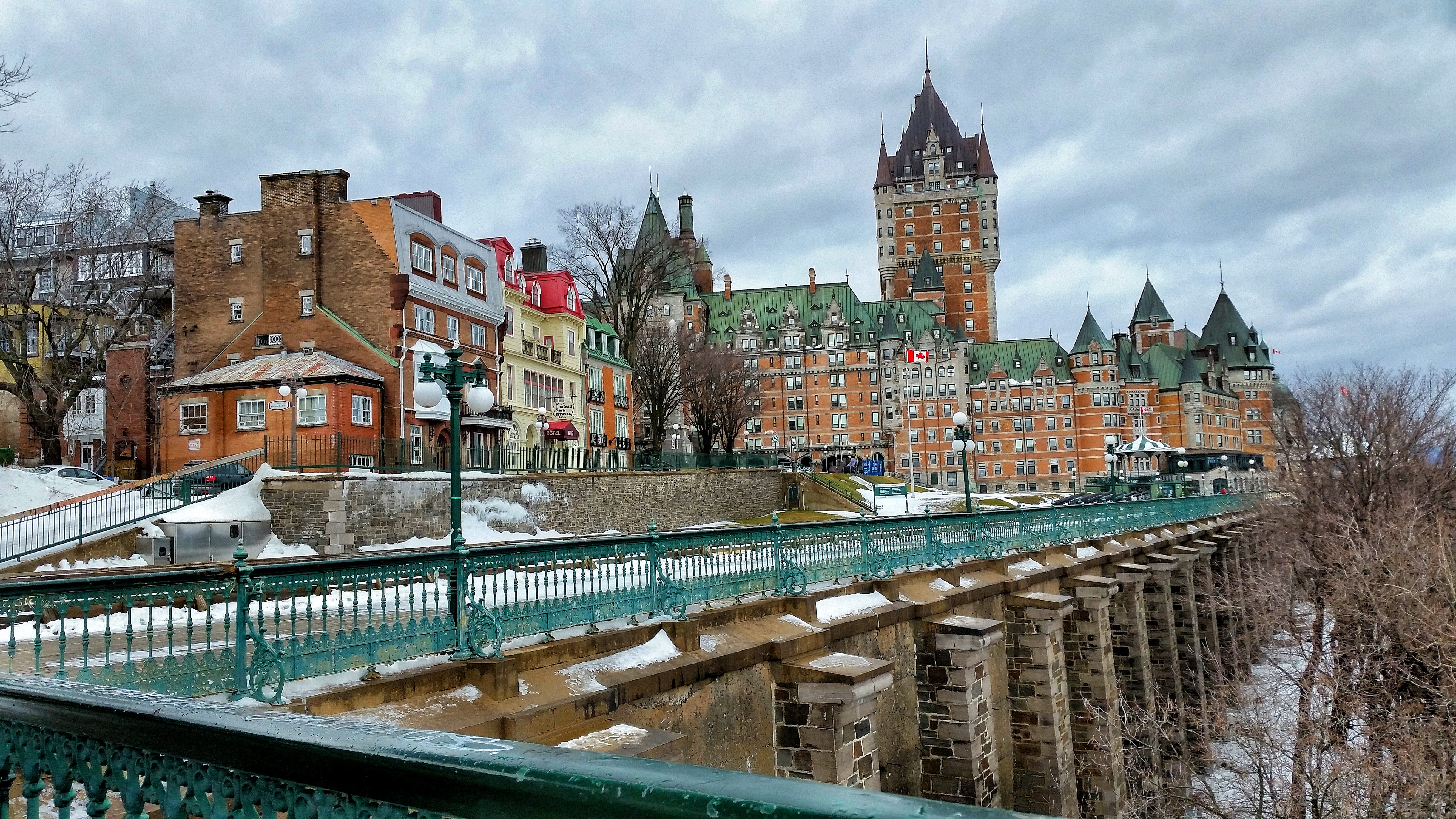 Quebec City for Christmas - Justin Goes Places
