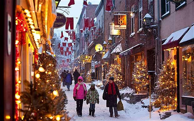 Old Quebec City Christmas Market.Quebec City For Christmas Justin Goes Places