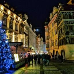 Visiting Prague at Christmas
