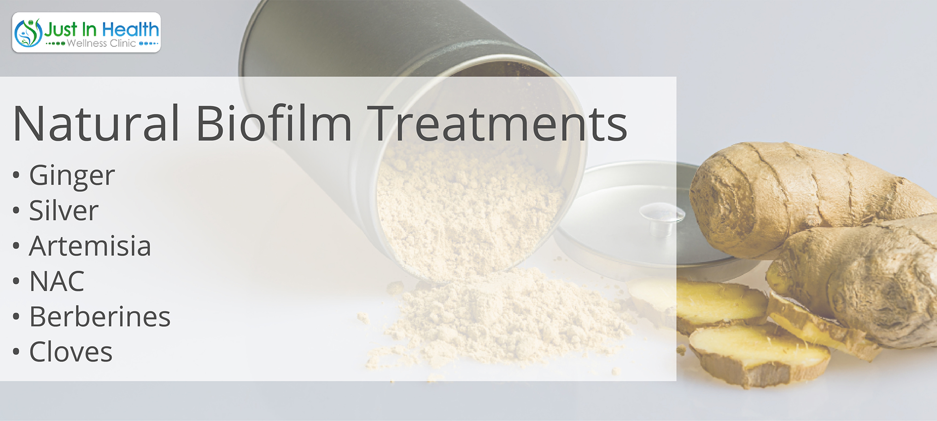 The natural treatments for Biofilms