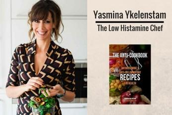 Yasmina Ykelenstam low histamine chef yasmina