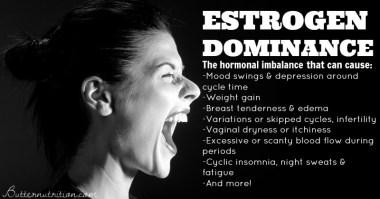 estrogen dominance - hormonal imbalance