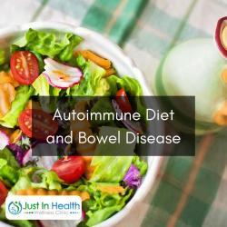 Autoimmune diet and bowel diseases