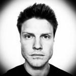 Justin Jackson's black and white headshot