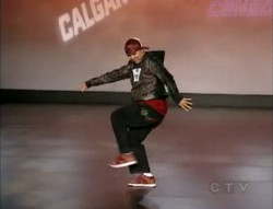 James Jones dancing on CTV So You Thin You Can Dance