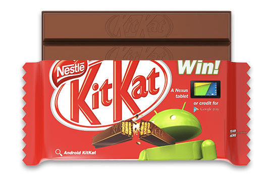 KitKat Google Android partnership