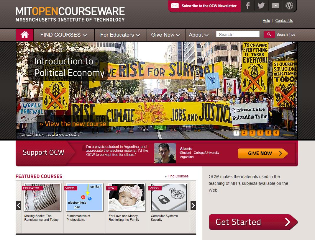 MIT Open Courseware