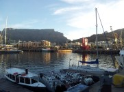 Table Mountain as seen from the Waterfront