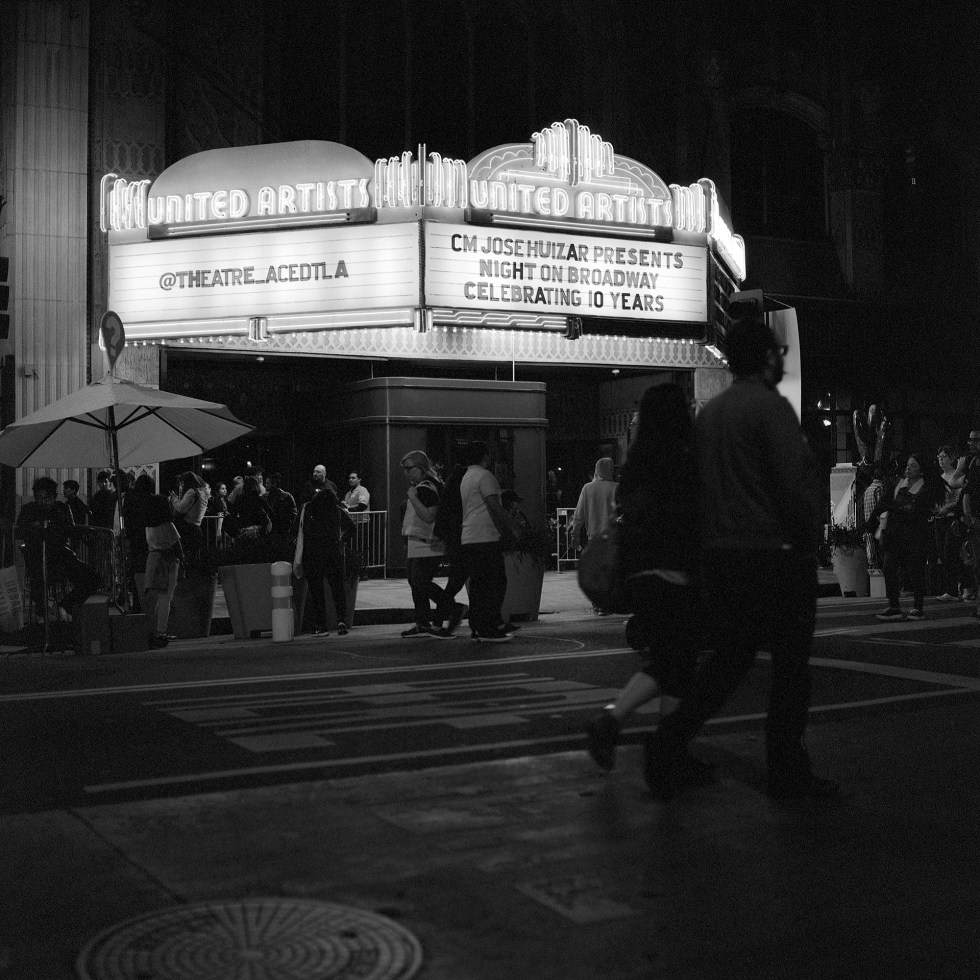 Ace Hotel Theater during the 10th anniversary of night on Broadway