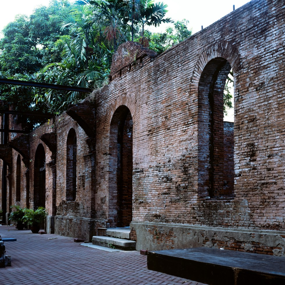Interior wall in Fort Santiago