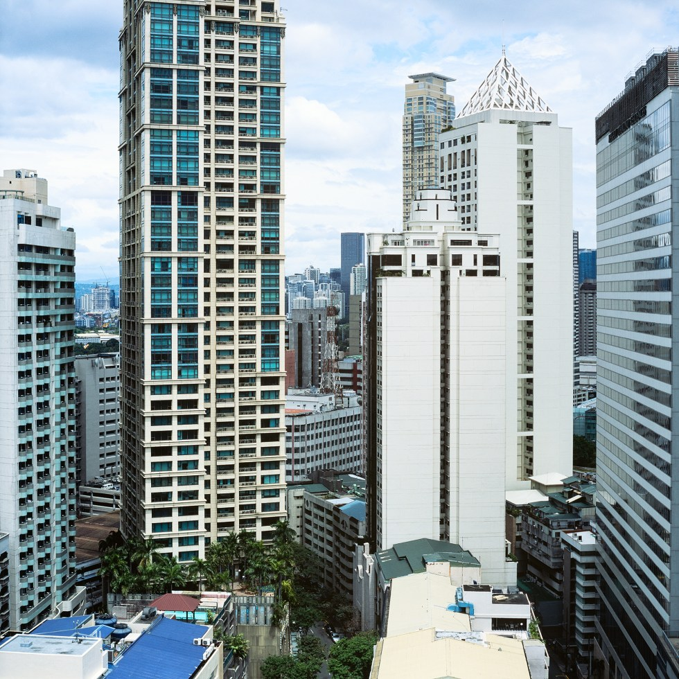 High rises in Manila for as far as you can see