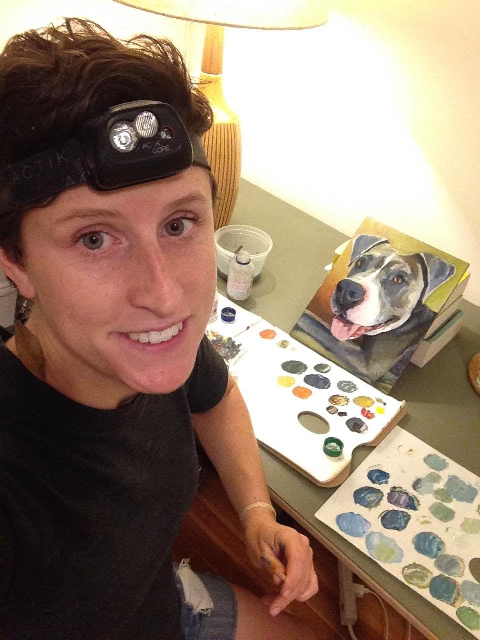 Emily Salle, artista norte-americana.