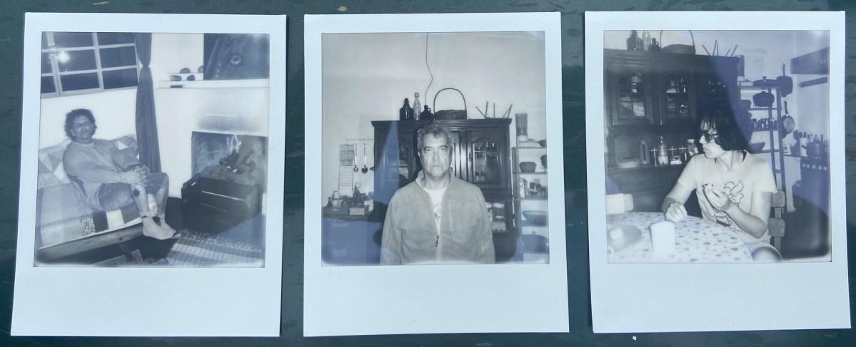 Retratos Contemporâneos - 6 a 8, Justino, Polaroid, 2020.