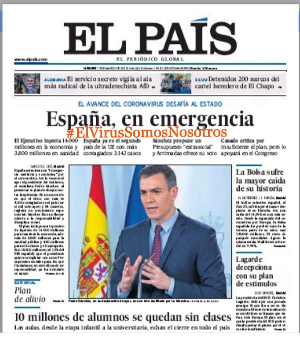 #ElVirusSomosNosotros – El País