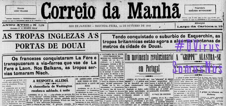 OVirusCorreioDaManha9118, Justino, 2020.