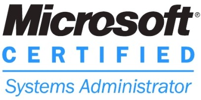 MCSA Certification from Microsoft