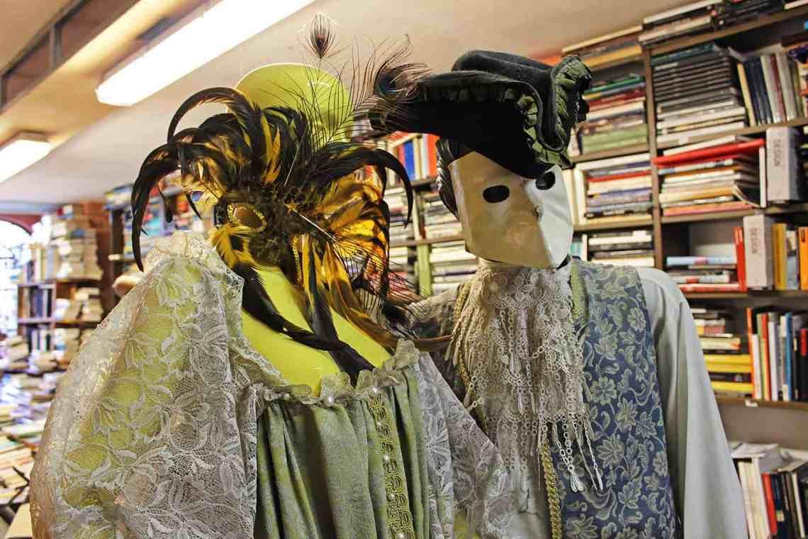 Libreria Acqua Alta Bookstore in Venice, Italy
