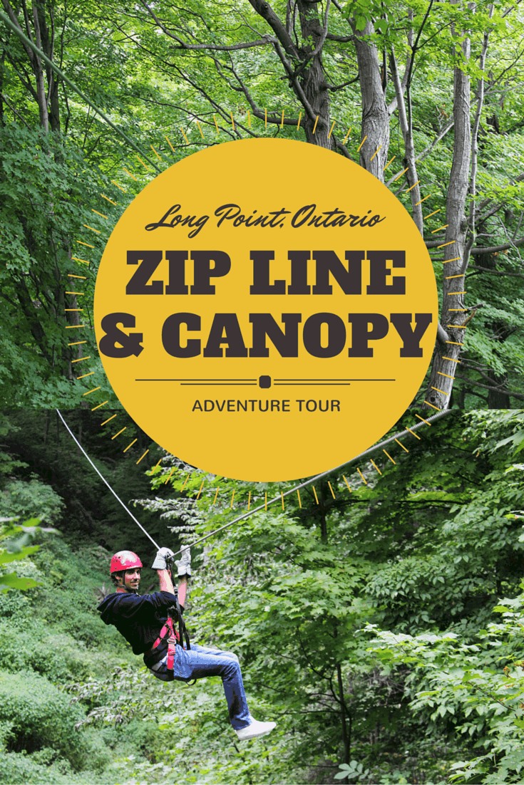 Zip Line and Canopy Tour Adventure in Long Point, Ontario, Canada