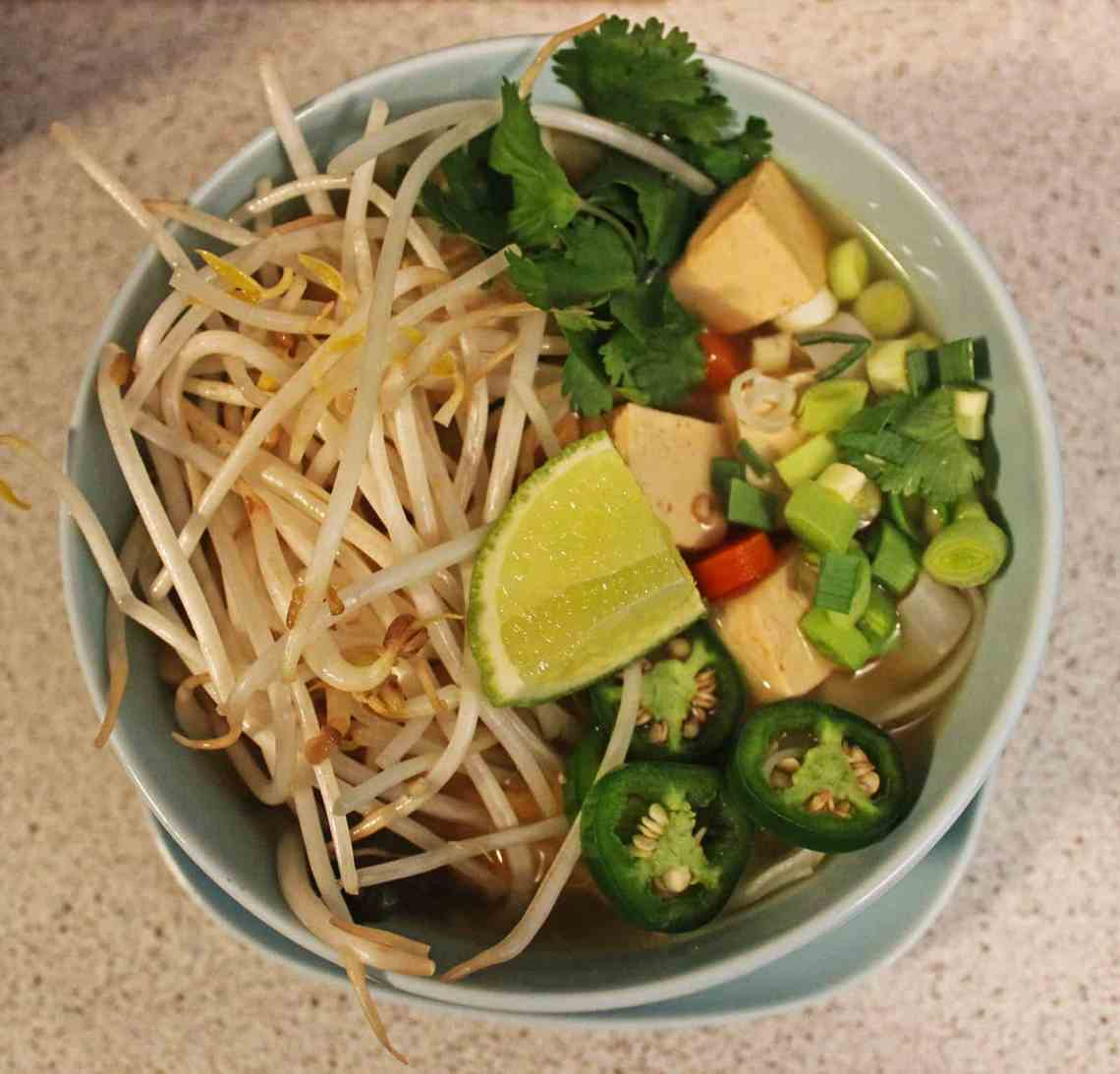 Vegan Pho - Vietnamese Noodle Soup