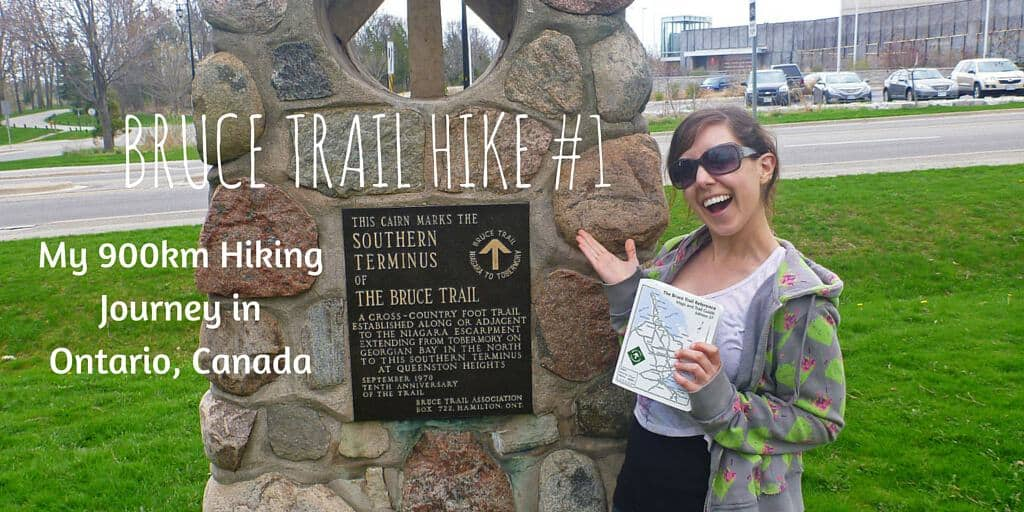 Bruce Trail Hike #1 – Queenston, Ontario