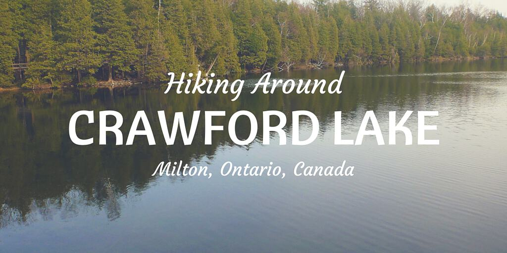Hiking Around Crawford Lake in Milton, Ontario, Canada