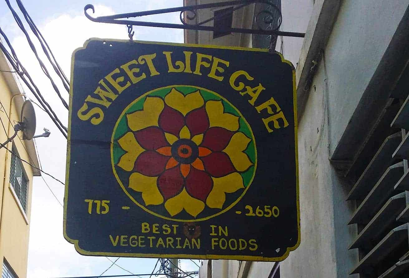 Sweet Life Cafe: Local Vegetarian Restaurant in St Thomas