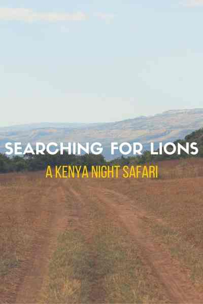 Searching for Lions: A Kenya Night Safari