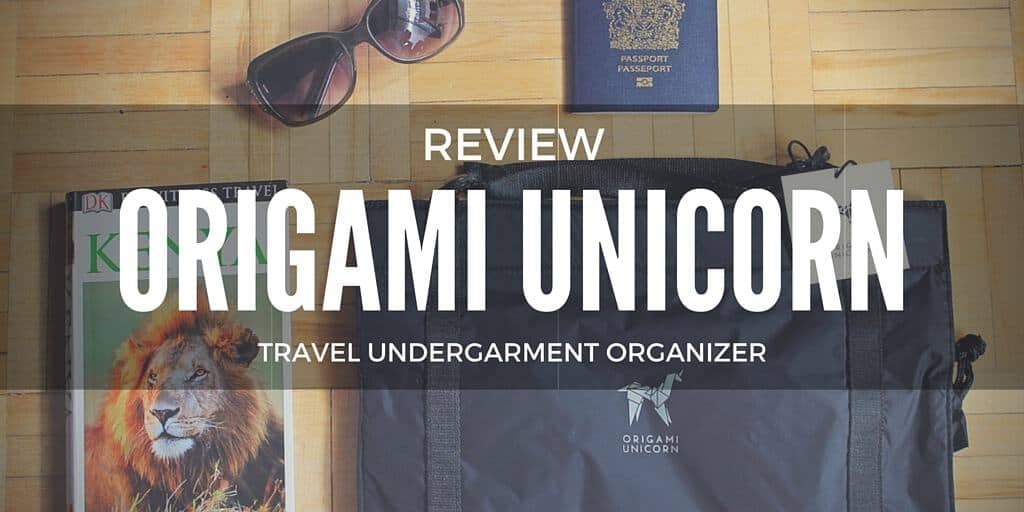 Origami Unicorn Travel Undergarment Organizer and a Giveaway!