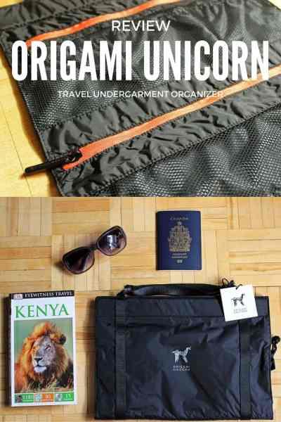 Review: Origami Unicorn TUO Travel Undergarment Organizer