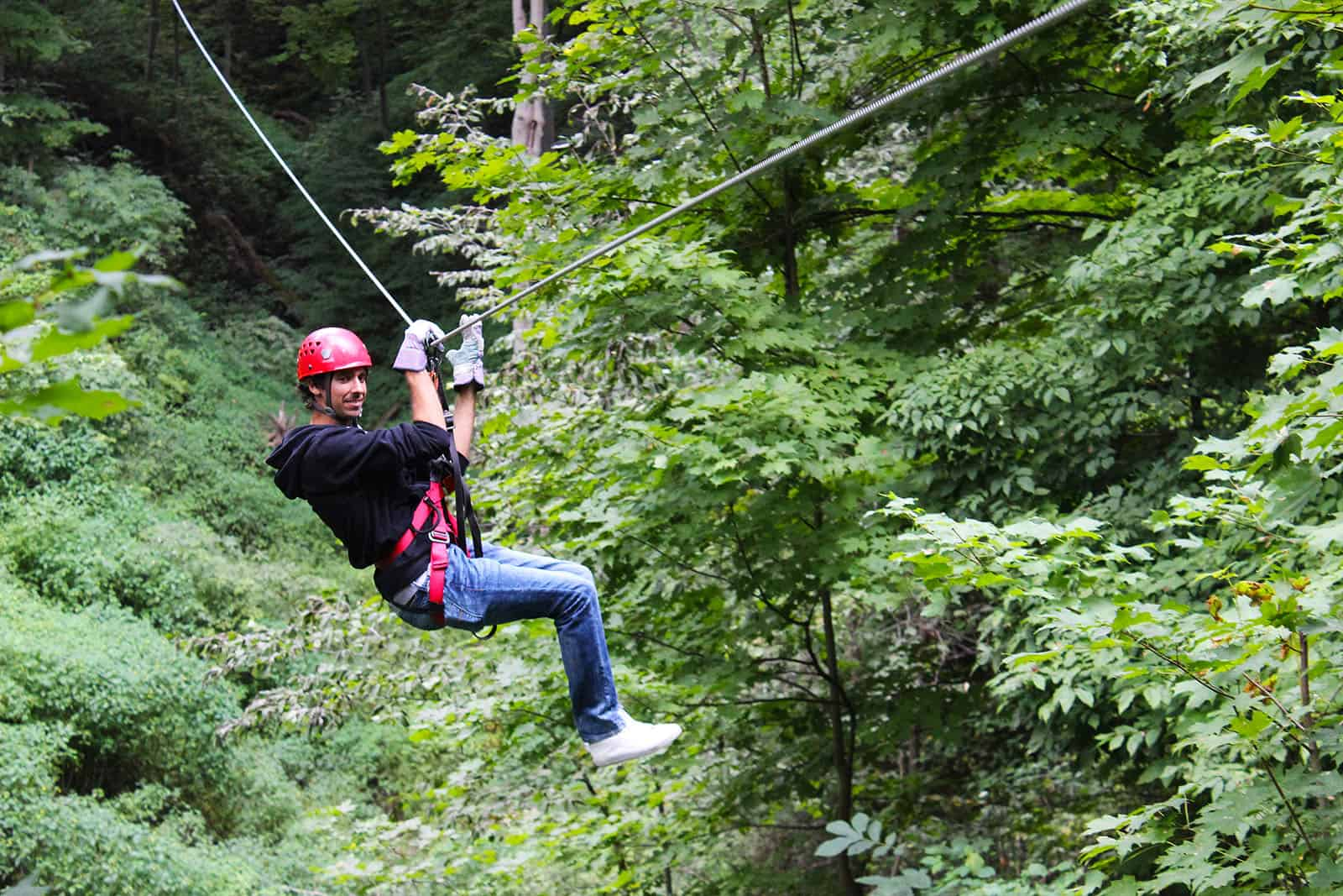 Long Point Zip Line and Canopy Tour with Samba Days