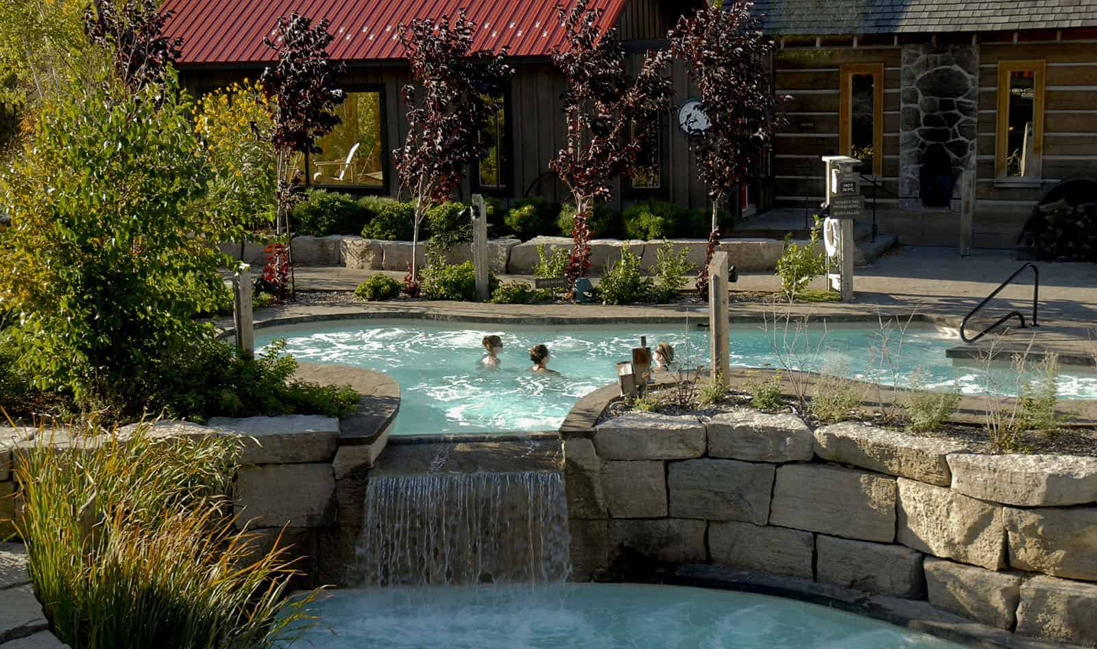 Pure Relaxation at Scandinave Spa Blue Mountain