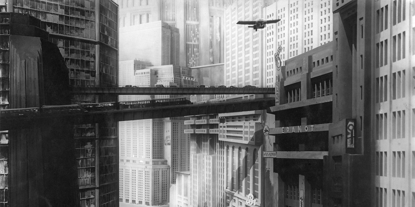 Skyline from the 1927 film Metropolis