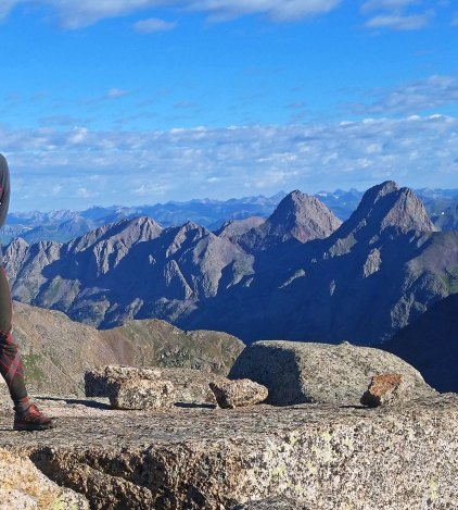 Continual Failure On Longs Peak Justin Simoni As The Long