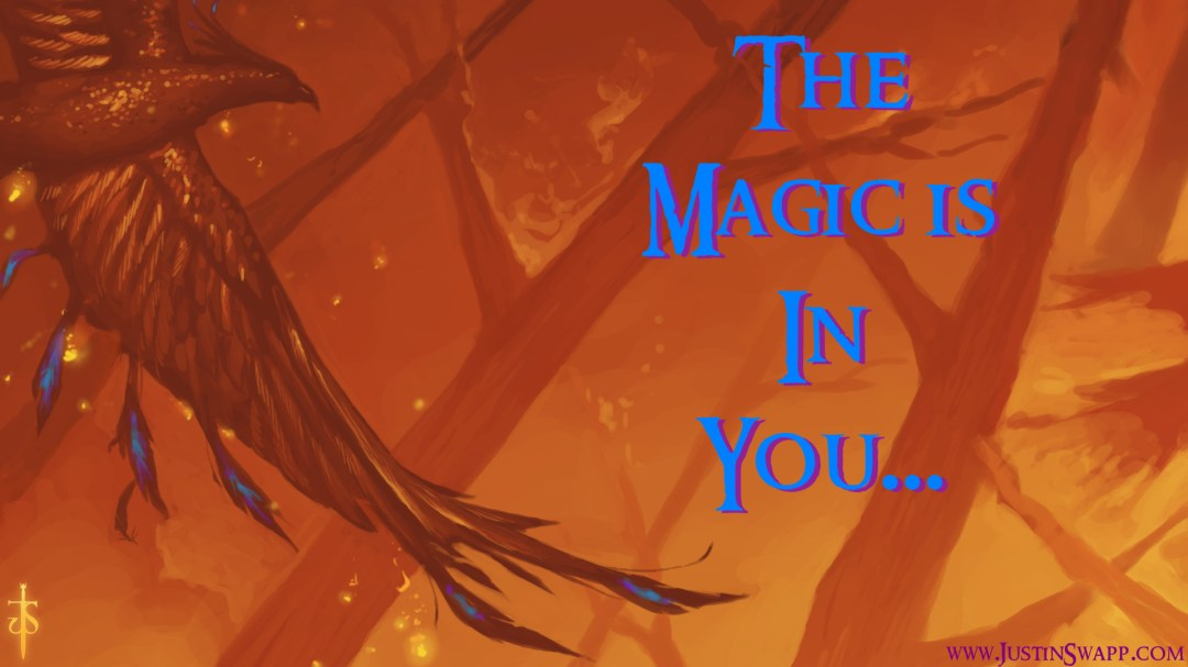 The Magic is in You Wallpaper