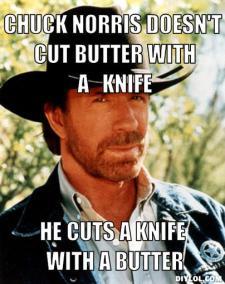chuck butter
