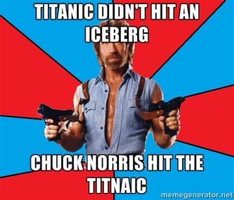 chuck titanic