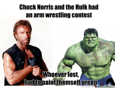 norris and the hulk