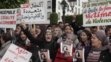 Women protest Morocco feb_2016