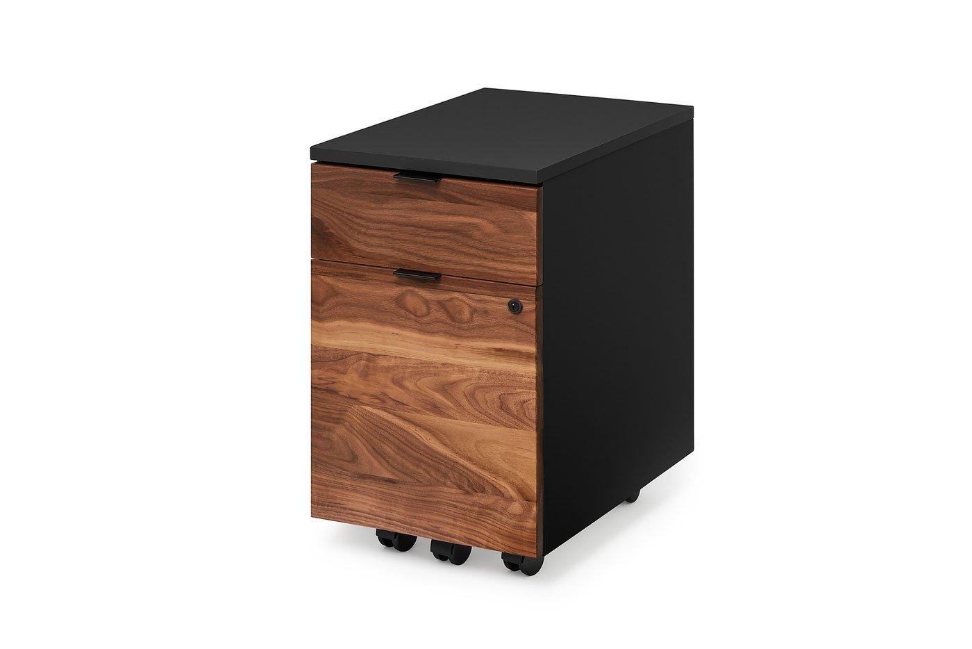Ergonofis Neat Walnut Filing Cabinet