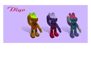 Fashion Digo – Character Design