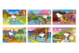 7-11 Snoopy Taiwan tour – retail marketing campaign